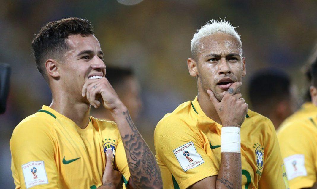 coutinho e neymar